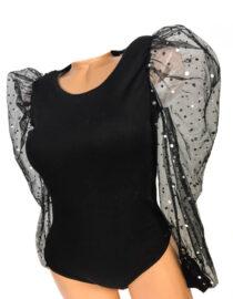 bluză body neagră,