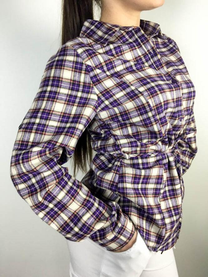 cămașă mov,