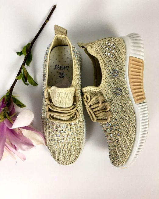 pantofi sport beige,