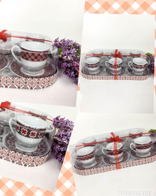 set cafea ceramic tradițional,