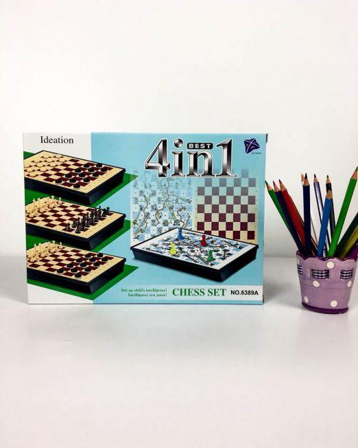 joc șah 4 în 1