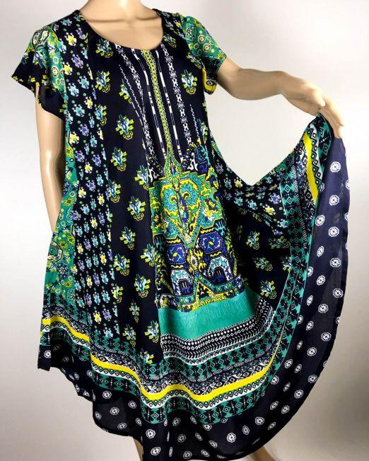 rochie damă vară bleumarin,