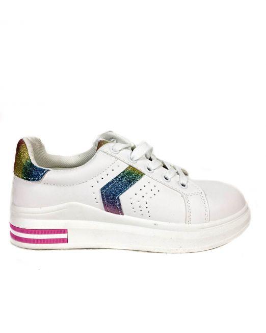 pantofi sport albi,