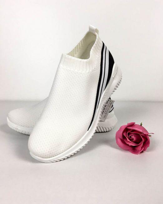 pantofi sport damă albi,
