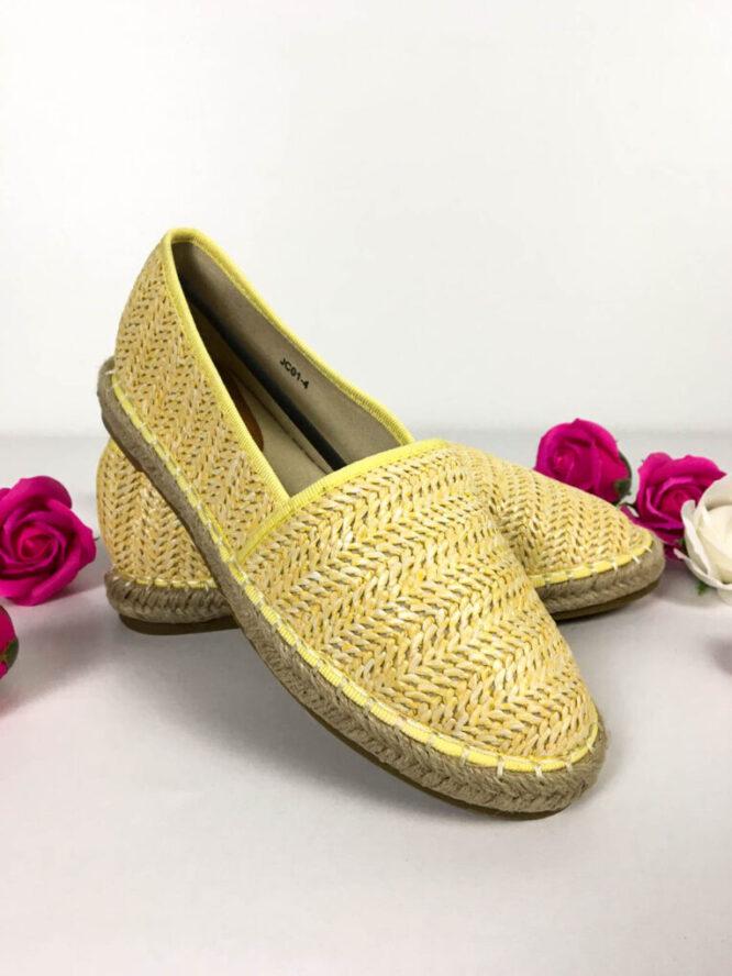 pantof sport galben damă,