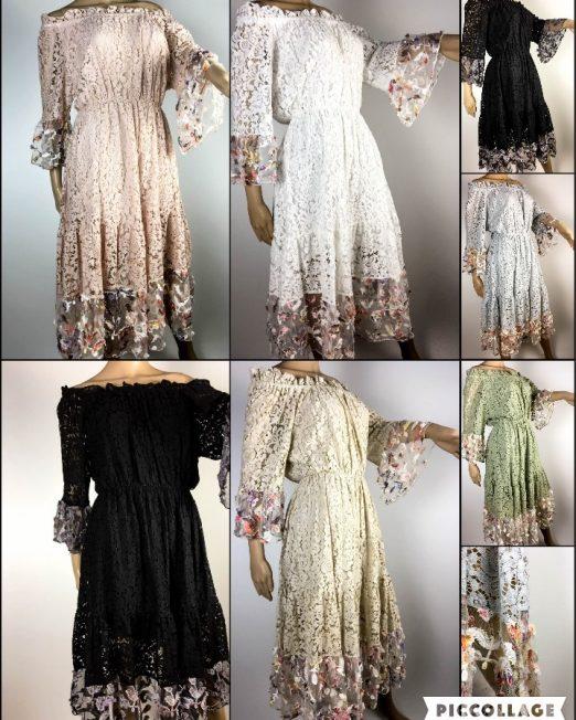 rochie de damă din dantelă