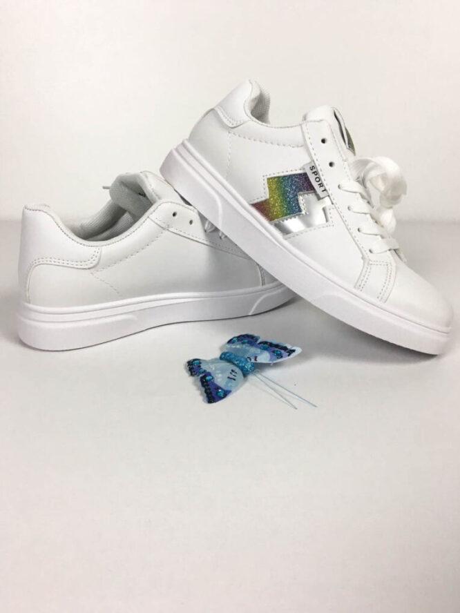 pantof sport alb damă,