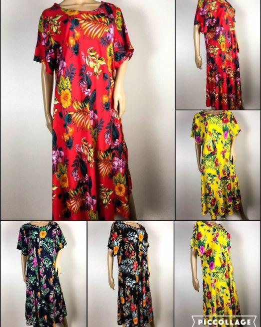 rochie damă vară cu flori,