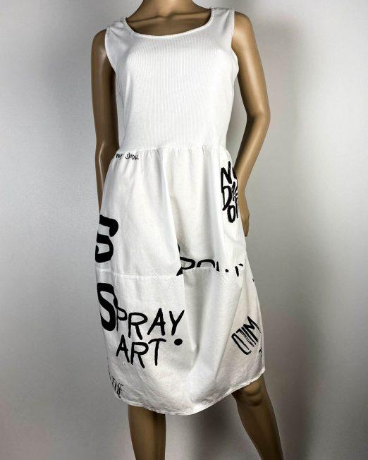 rochie albă damă vară sport,