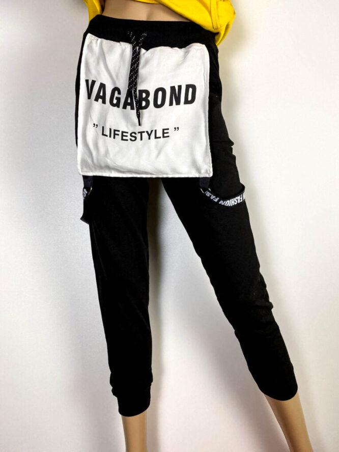 pantalon sport negru damă,