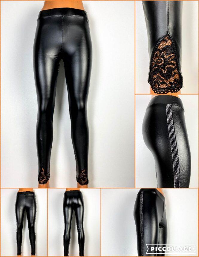 pantalon colant negru damă,