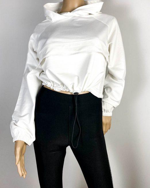bluză sport albă damă,