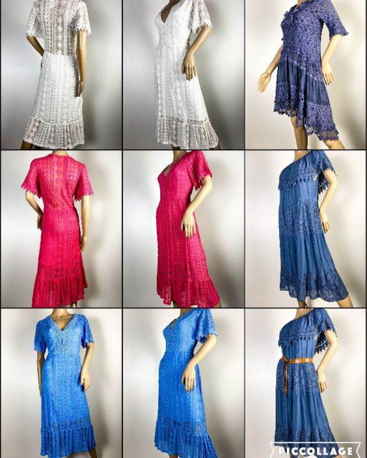 rochie damă vară dantelă,