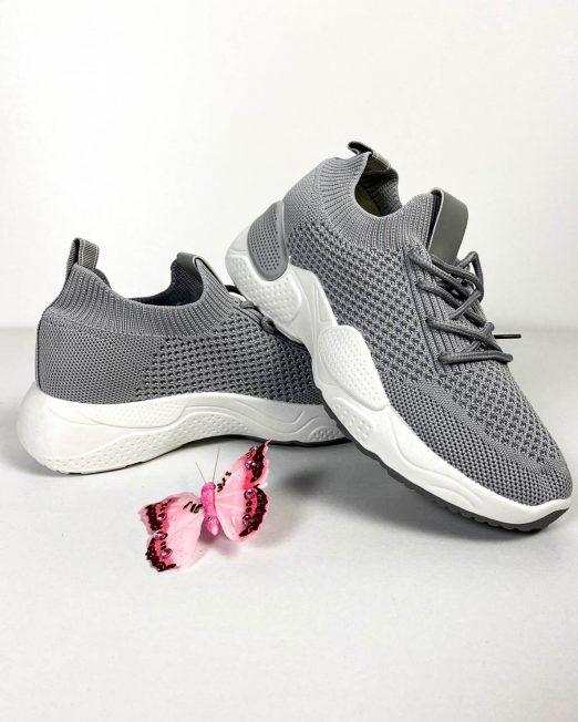 pantof sport gri damă vară,