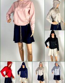 pulover glugă damă,