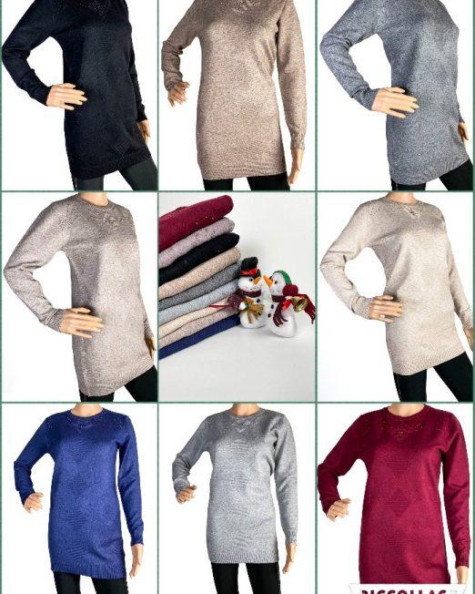 pulover tricotat damă iarnă,