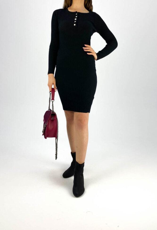 rochia mulată neagră damă,