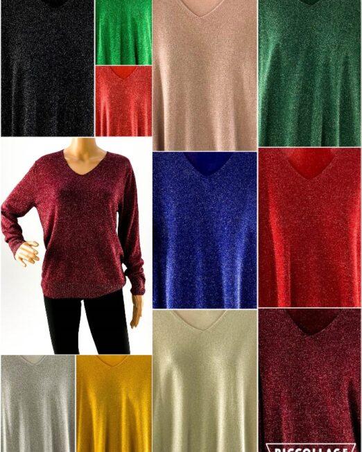 pulover damă cu sclipici,