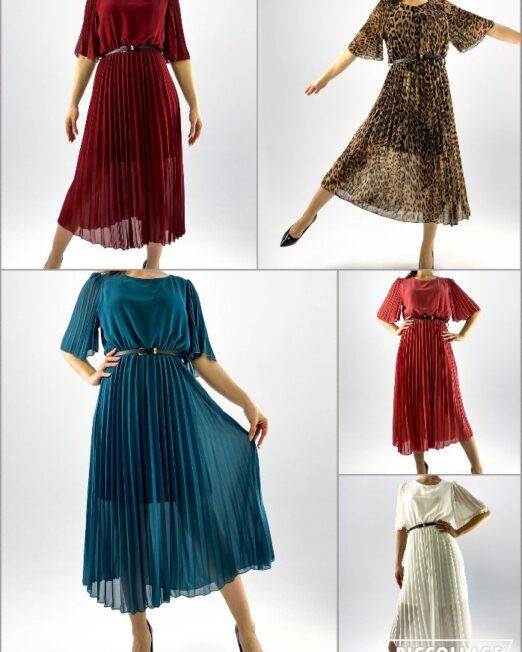 rochie plisată damă,